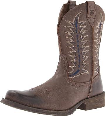 Ariat Men's Rambler Flint Boot,Rustic Shadow,8.5 M US