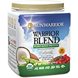 Sunwarrior Warrior Blend Raw Vegan Protein, Natural 1.1 lbs (FFP)