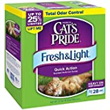 Cat's Pride Fresh and Light Multi-Cat Scoopable Premium Clumping Litter Box, 21-Pound