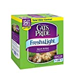 Cats Pride Fresh and Light Multi-Cat Premium Scoopable Litter box, 21-Pound