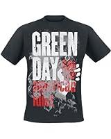 Green Day American Idiot - Smoke Screen T-Shirt schwarz
