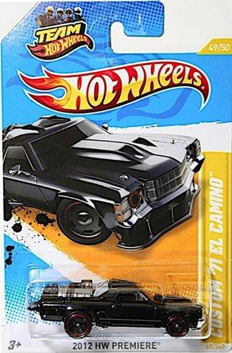 CUSTOM '71 EL CAMINO Hot Wheels 2012 New Models Series 1:64 Scale Collectible Die Cast Car #49/50 (El Camino Model compare prices)