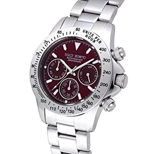 [ドルチェ セグレート]DOLCE SEGRETO 腕時計 レッド CG100RD メンズ