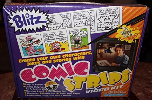 Create Your Own Comic Strips Video Kit WBEBB-434