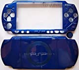 Metallic Blue PSP 2000 Full Shell Cover Housing Replacement with Button Set