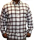 Ralph Lauren Chaps Flannel Shirt-XL-Rock Salt