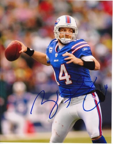 Ryan Fitzpatrick Autographed / Hand Signed Buffalo Bills 8x10 Photo lauren holly signed autographed dragon the bruce lee story glossy 8x10 photo coa matching holograms
