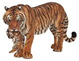 Papo Wild Animal Kingdom Figure, Tigress with Cub