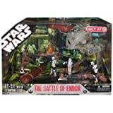 Star Wars 30th Anniversary Saga 2007 Exclusive Action Figure Mega-Pack The Battle of Endor