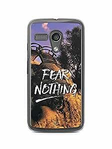 YuBingo Fear Nothing Designer Mobile Case Back Cover for Motorola G
