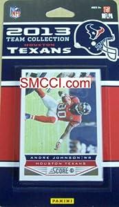Houston Texans 2013 Score NFL Football Factory Sealed 13 Card Team Set by Houston Texans Team Set