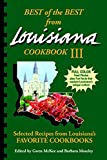Best of the Best from Louisiana III (Best of the Best State Cookbook)