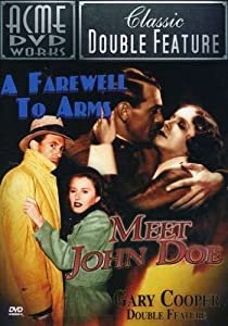 Gary Cooper Double Feature: A Farewell to Arms/Meet John Doe