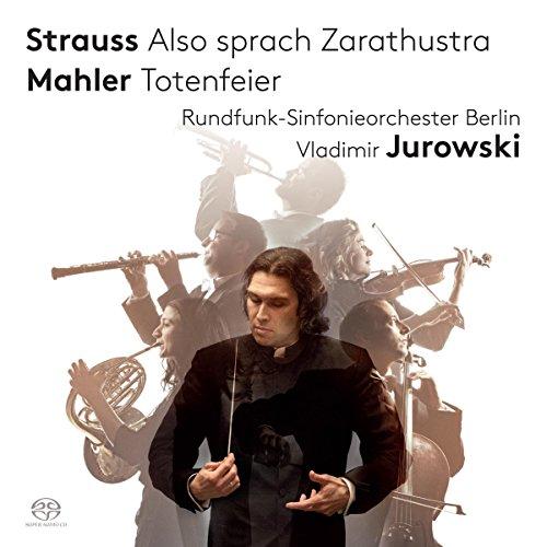 SACD : TOBIAS BERNDT - VLADIMIR JUROWSKI - RUNDFUNK-SINFONIEORCHESTER BERLIN - Also Sprach Zarathustra (Hybrid SACD)