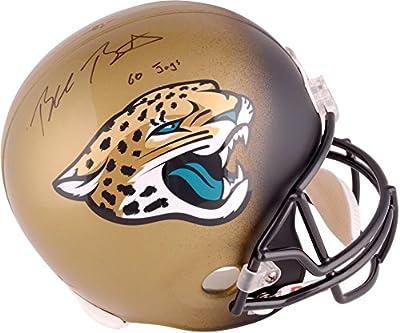 Blake Bortles Jacksonville Jaguars Autographed Riddell Replica Helmet With Go Jags Inscription - Fanatics Authentic Certified