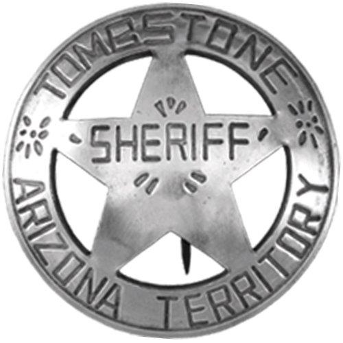 Badge Replica Necklace Sheriff Replica Badge