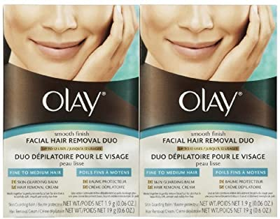 Olay Smooth Finish Facial Hair Removal Duo 1 Kit 2 Pack from Olay