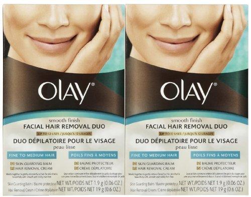 Olay Smooth Finish Facial Hair Removal Duo 1 Kit