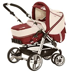 babywelt 777357 272 kombi kinderwagen oregon gt6 design flower baby. Black Bedroom Furniture Sets. Home Design Ideas