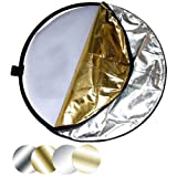 "Impact 5-in-1 Collapsible Circular Reflector Disc - 22"" ~ Impact"