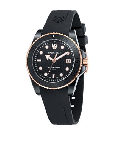 Swiss Eagle Reloj Dive Negro