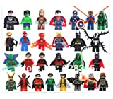 GLP 27 Pcs Super Hero Figures the Avengers Building Blocks Sets Minifigures Bricks Classic Toys Compatible with Lego Toys
