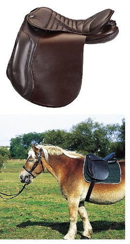 AMKA Kaltblutsattel | Sattel für Kaltblut Pferde