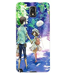 ColourCraft Friends Design Back Case Cover for SAMSUNG GALAXY NOTE 3