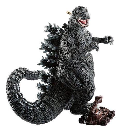 Carlton Heirloom Magic Ornament 2012 Godzilla - Crushing a Tank - #CXOR049B