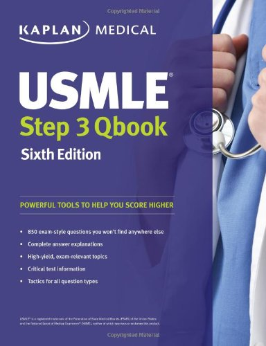 USMLE Step 3 QBook (USMLE Prep)SIXTH EDITION (Step 3 Qbook compare prices)