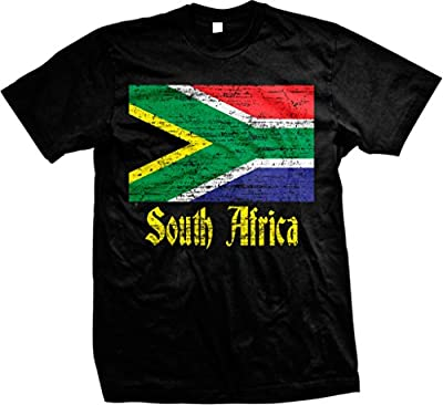 Flag of South Africa, South African Flag Women's T-shirt, NOFO Clothing Co.