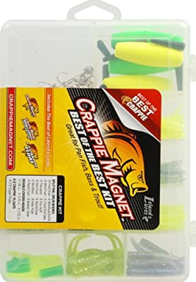 Crappie Magnet Soft Plastic Best of the Best 115 piece Kit