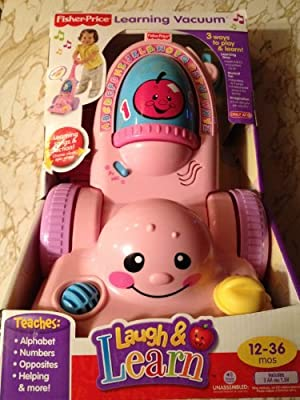 Fisher-Price Educational Products Fisher-Price Laugh & Learn Learning Pink Vacuum at Sears.com