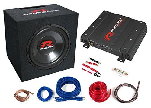Bass-Kit-Auto-Anlage-Einsteigerpaket-Verstrker-Subwooferbox-Renegade-RBK550