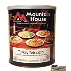 Mountain House Freeze Dried Turkey Tetrazzini with Free Can Opener by Mountain House