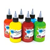 STARBRITE Tattoo Ink 6 Bottles - 1/2-oz SUMMER SET - Tattoo Supplies