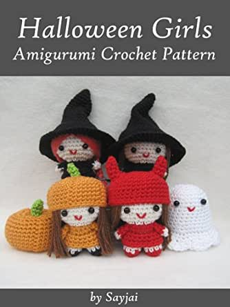 Halloween Amigurumi Crochet : Halloween Girls Amigurumi Crochet Pattern (Easy Crochet ...