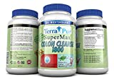 Detox Colon Cleanse By Terrapur, Super Max Colon Cleanse 1800, If Youre Looking to Shed the Pounds Then This Amazing Detox Cleanse Is What You Need, Flush Harmful Waste and Remove Stubborn Belly Fat, Lose Weight and Feel Lighter and Healthier, Manufactured in a GMP Certified Organic Facility, Potency and Purity Guaranteed!! Launch Special Price!!