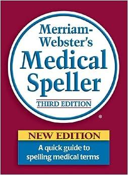 merriam webster medical dictionary pdf