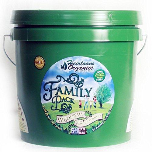 Heirloom organics non gmo family seed pack 35 varieties for A shear pleasure pet salon