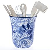 Porcelain 6pc Utensil Holder Set