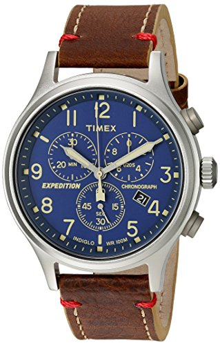 timex-mens-expedition-scout-chrono-blue-brown-leather-strap-watch