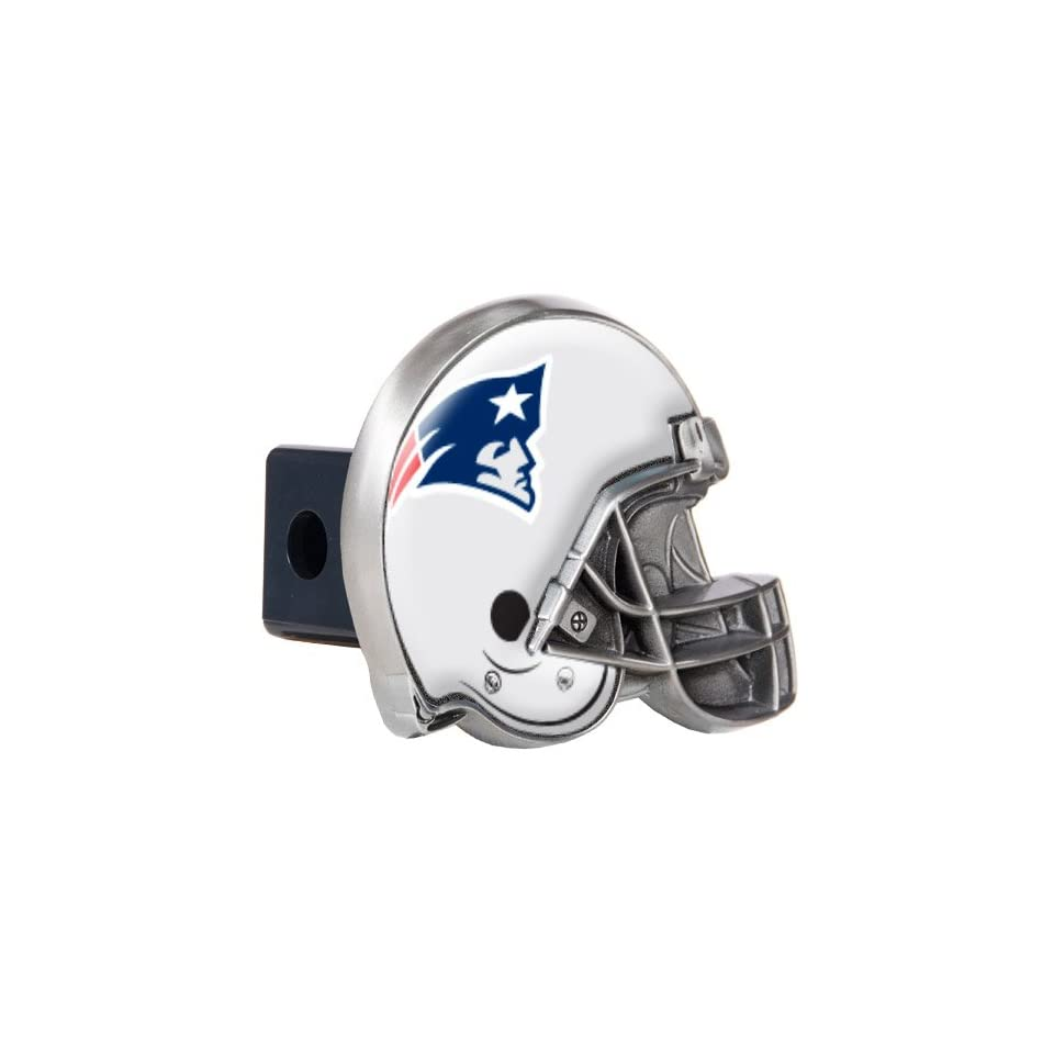 New England Patriots NFL Metal Helmet Trailer Hitch Cover