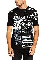 Pepe Jeans London Camiseta Manga Corta Bale (Negro)
