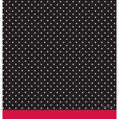 "Creative Converting Cupcake Blowout Plastic Table Cover, Rectangle 54 X 108"" - 1"