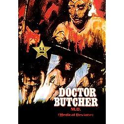 Doctor Butcher M.D. (Zombie Holocaust) [VHS Retro Style] 1980