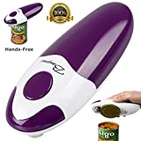 BangRui hands-free fast and secure smooth edge automatic alectric can opener (purple)