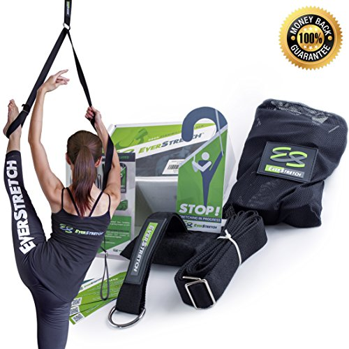 Leg Stretcher: Become More Flexible With This Door Flexibility Trainer by EverStretch: Premium stretching equipment for ballet, dance, martial arts, MMA, taekwondo & gymnastics. Your very own portable stretch machine!