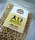 ソラベル自然栽培大豆1kg 肥料も農薬も使っていない大豆 《産地 青森県》 品種おおすず