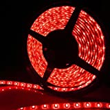 Generic Flexible Light Strip 300 SMD Red LED Ribbon 5 Meter or 16.4 Feet